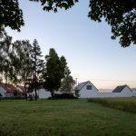Moderná usadlosť v dedine