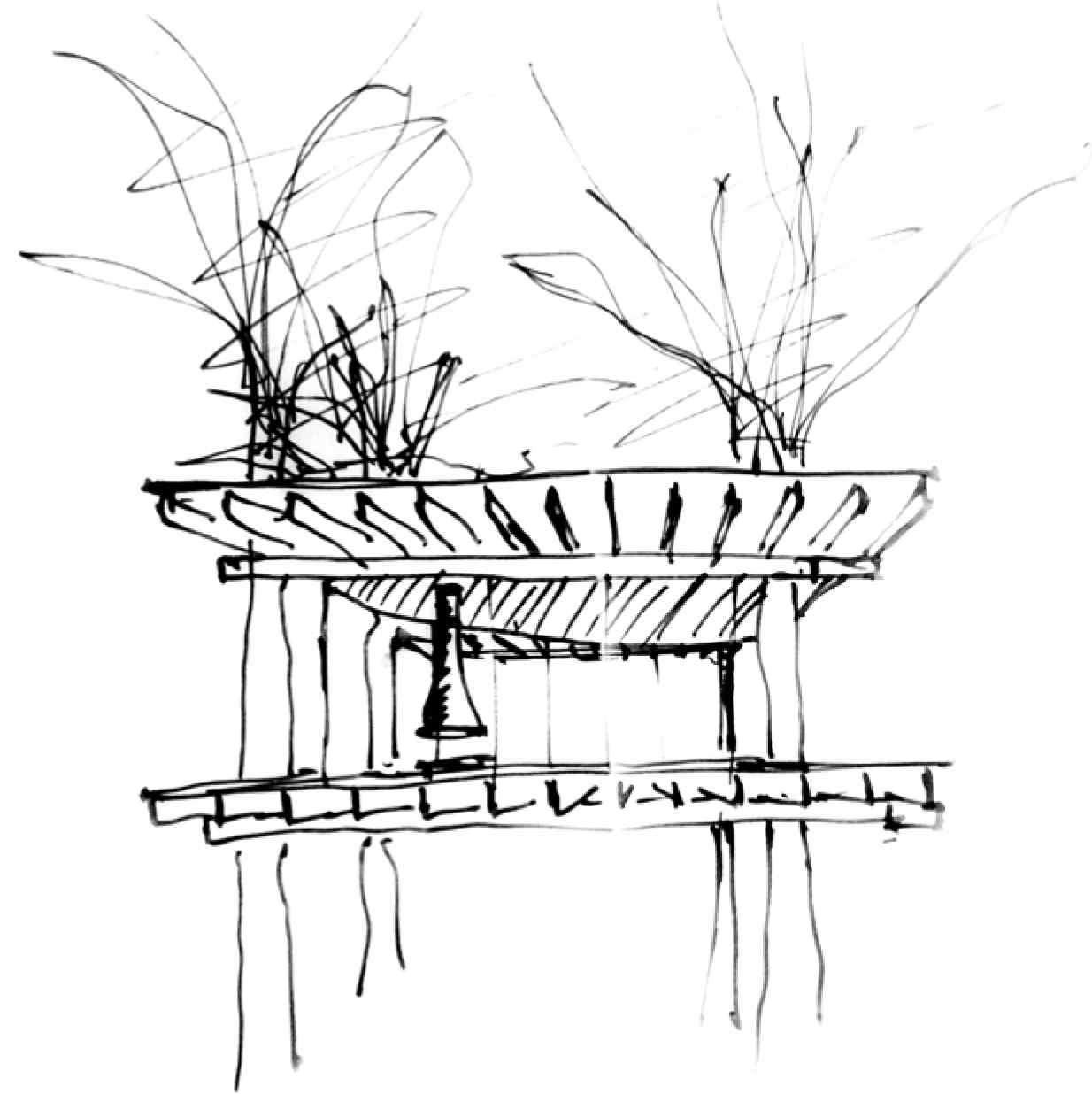 Tree house skica 1