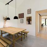 Drevený jedálenský kút v kuchyni