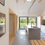 Kuchyňa s výhľadom do záhrady