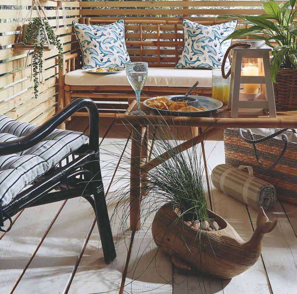 Ako si na balkóne a záhrade vytvoriť intímne zákutia