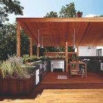 Bylinková záhradka v altánku
