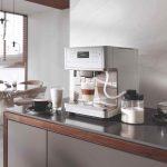Kávovar Miele v kuchyni