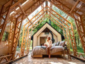 Dynamická chata, ktorá získala prestížne ocenenie. Upravíte si ju podľa nálady a počasia