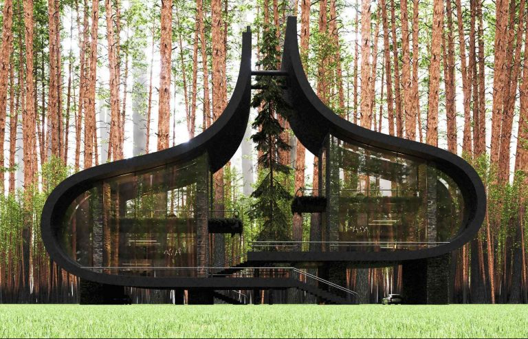 Fascinujúci dom stvorený pre dvojčatá: Nič podobné ste ešte nevideli!