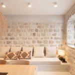Obývačka v prímorskom štýle