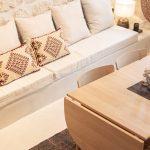 Obývačka a jedáleň v prímorskom štýle