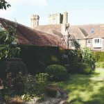 Záhrada pri anglickom dome