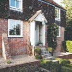 Vchod do anglického vidieckeho domu