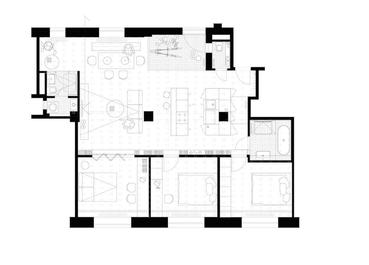 N1M_podorys navrhovany