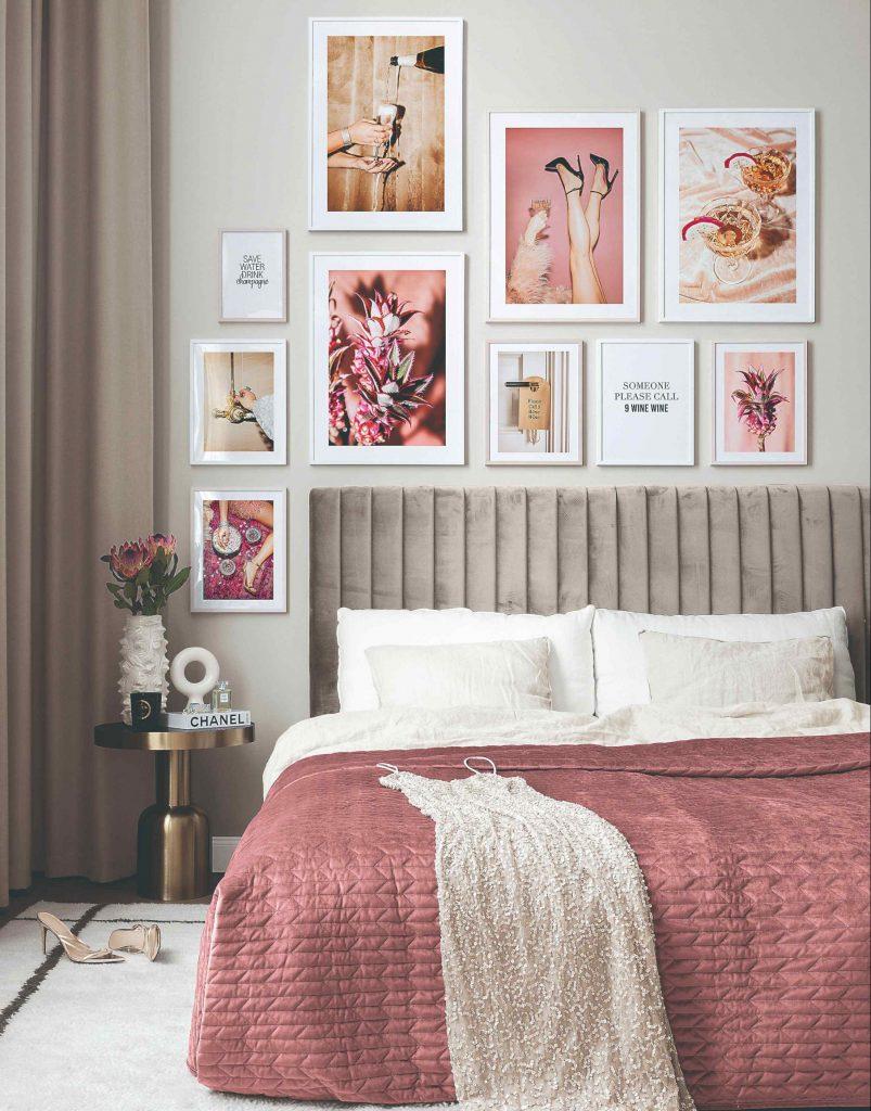 Ako premeníte vaše steny na umelecké zátišie s obrazmi