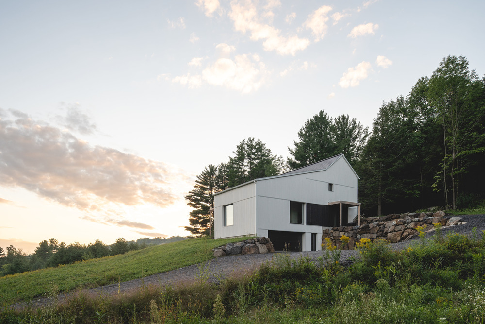 Pasívny rodinný dom na kopci