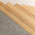 Detail dreveného schodiska