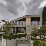 Moderná trojpodlažná vila s japonskou záhradou