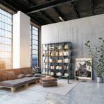 Loftový byt v industriálnom štýle