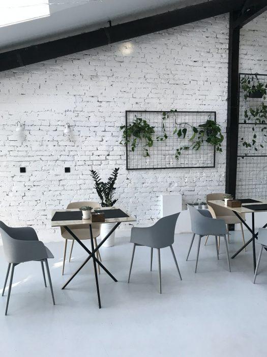 Tehlová stena v interiéri