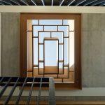 Kazetový drevený strop