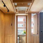 Kazetový drevený strop v dennej časti