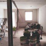 Byt pred rekonštrukciou búracie práce