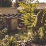Prírodná terasa domu