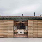 Otváracia fasáda domu do záhrady