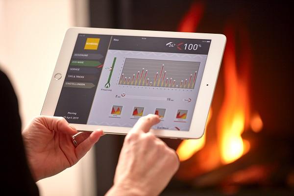 Aplikácia na ovládanie teploty