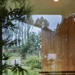 Presklená stena do záhrady