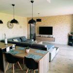 Obývacia izba s otvorenou kuchyňou