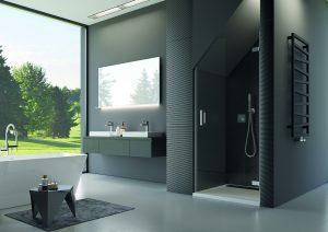 PUR – sprchová zástena v atypickom prevedení od SanSwiss