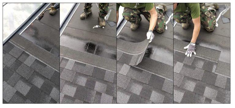 Nová metóda inštalácie šindľov na nízke sklony bez klincov!