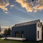 Dvojpodlažná moderná stodola s terasou