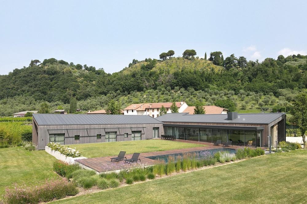 Vidiecke sídlo v Taliansku