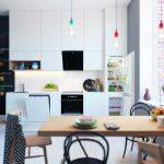 Moderná kuchyňa s jedálňou