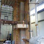 Testovanie stavby komína