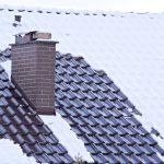 Zasnežená strecha