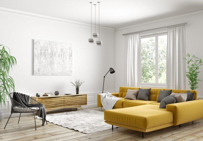 moderná obývacia izba