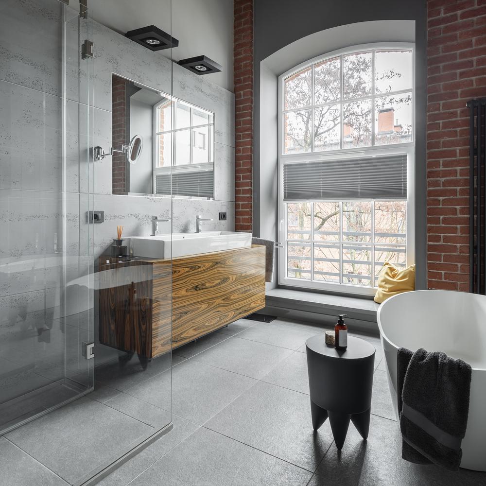 Kúpeľňa v industriálnom štýle