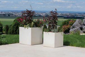 Správne osadenie kvetináča skrášli vašu záhradu aj v zime