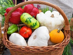 Zelenina okolo domu